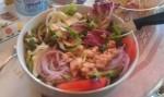 Tunfisksalat til Lunch i Bellagio
