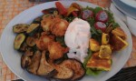 Lunch i Trieste, Italia