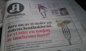 Aftenposten 2012-09-08