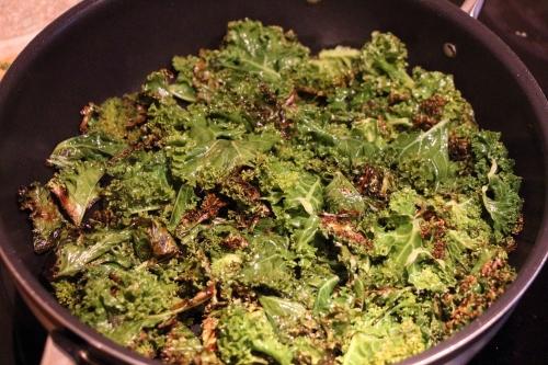 Svidd grønnkål